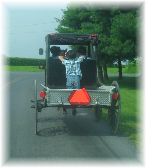 Mennonite pickup 7/31/13