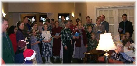Mennonite singers
