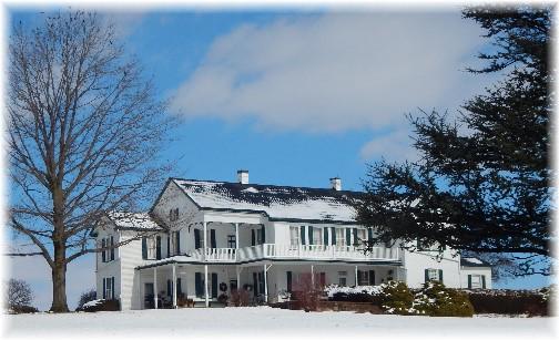 Mount Joy farmhouse 2/18/18 (Click to enlarge)