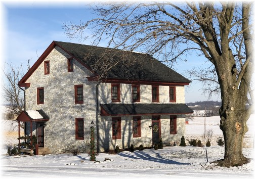 Mount Joy stone farmhouse 1/2/18