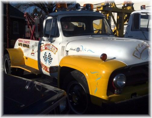 Restored tow truck in Mount Joy, PA