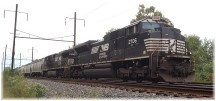 Norfolk and Southern train 9/29/14