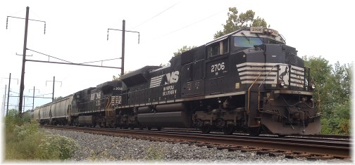 Norfolk Southern train 9/29/14