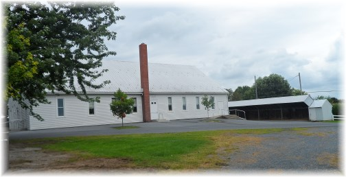 Old-order Mennonite Church, Lancaster County, PA 8/7/13