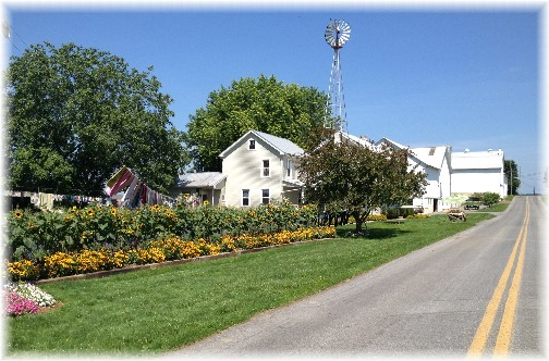 Old-order Mennonite farm 7/10/15