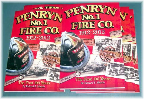 Penryn Fire Company 100th anniversary book