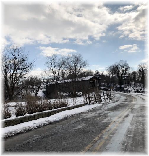 Pinetown Covered Bridge 2/18/18