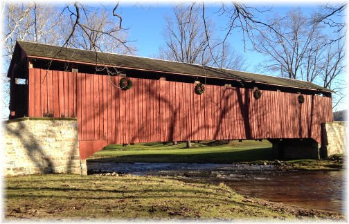 Poole Forge Covered Bridge 12/7/14