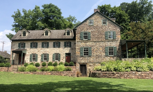 The Poole Forge ironmaster mansion house