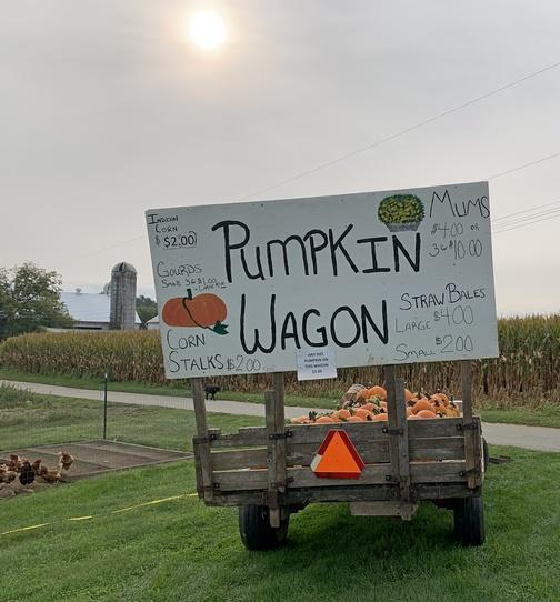 Pumpkin Wagon on Ronks Road
