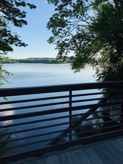 Rail trail bridge, Lancaster County, PA 5/31/20