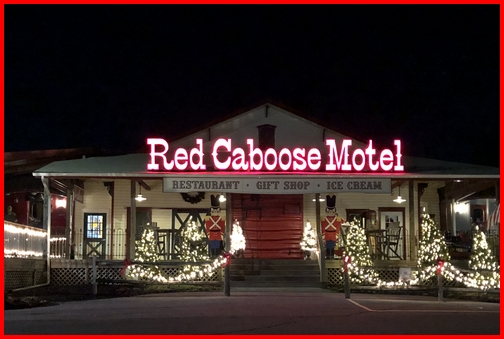 Red Caboose Motel 12/24/18