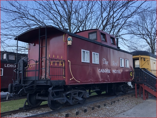 Red Caboose, Lancaster County, PA 12/13/18
