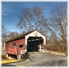 Risser's Mill Covered Bridge in Lancaster County PA