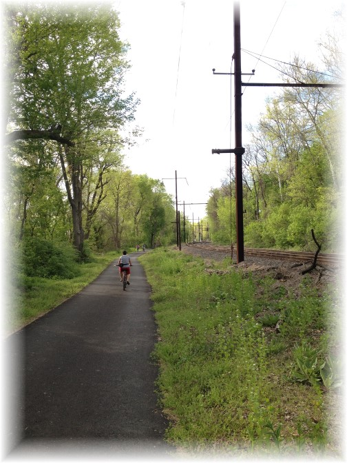 Susquehanna River trail 5/3/15