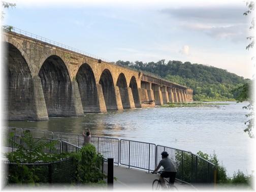Shocks Mill Bridge 6/26/18 (Click on photo to enlarge)