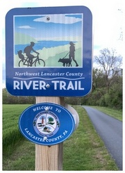 River Trail sign