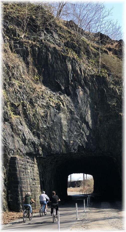 River trail tunnel near Columbia, PA 4/13/18