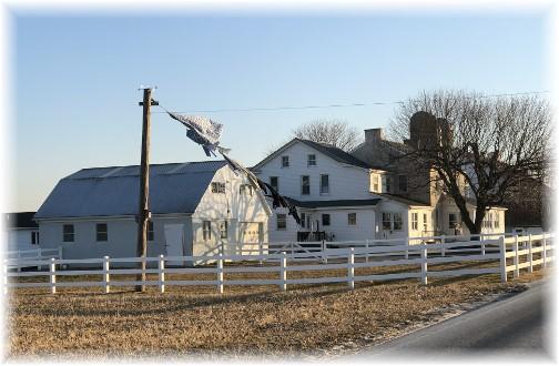 Amish Farm on Rockvale Road 2/8/18