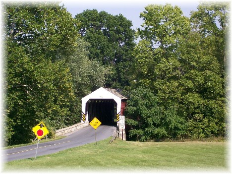 Schenks Mill Covered Bridge, Lancaster County, PA 8/31/10
