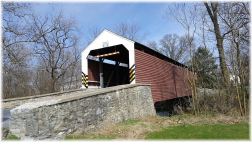 Shenck's Mill Covered Bridge 4/5/17 (Click to enlarge)