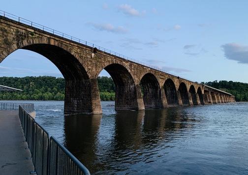 Shocks Mill Bridge, Lancaster County, PA 5/31/20 (Click to enlarge)
