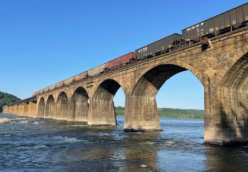 Shocks Mill Railroad Bridge
