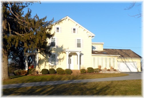 Lancaster County farmhouse