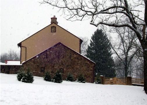 Lancaster County stone barn