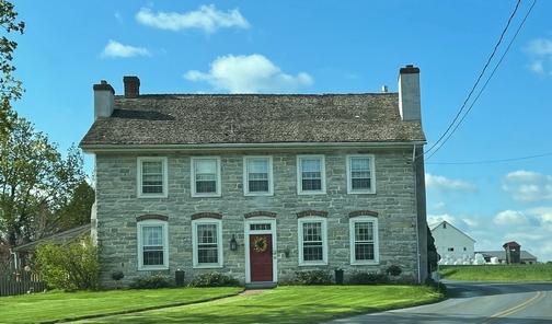 Lancaster County stone farmhouse