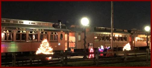 Strasburg Railroad cars 12/24/18