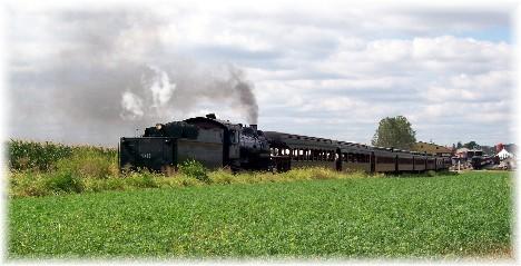 Strasburg Railroad train, Lancaster County, PA