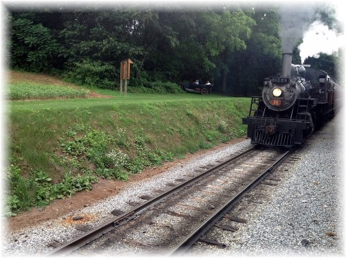 Strasburg train (Photo by Nick Nichols)