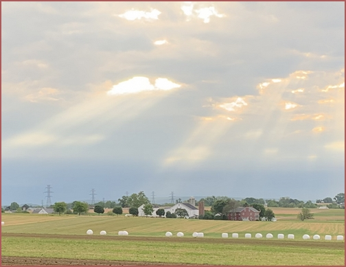 Lancaster County sunrise  5/23/19