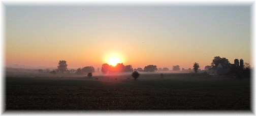 Lancaster sunrise 10/2/13