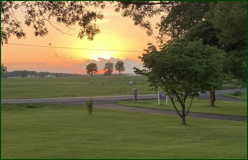 Lancaster County sunset  5/23/19