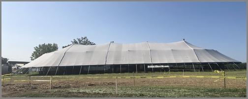 Tent revival tent
