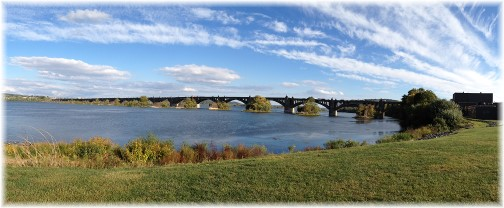 Veterans Memorial Bridge over Susquehanna River 10/4/14