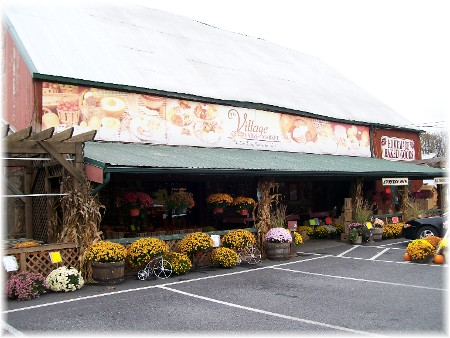 Village Farm Market along 322 in Lancaster County PA