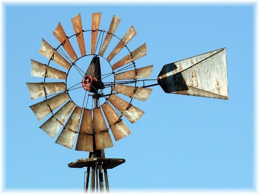 Lancaster County windmill (photo by Nick Nichols)