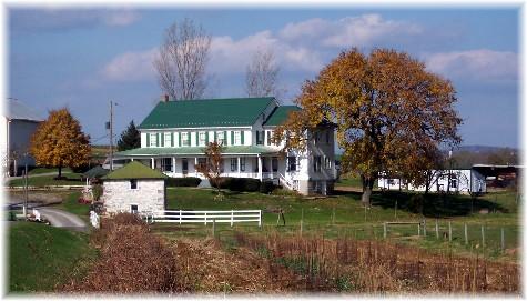 Eastern Lancaster County Farmhouse