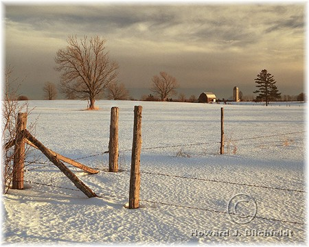 Michigan winter scene (photo by Howard J. Blichfeldt)