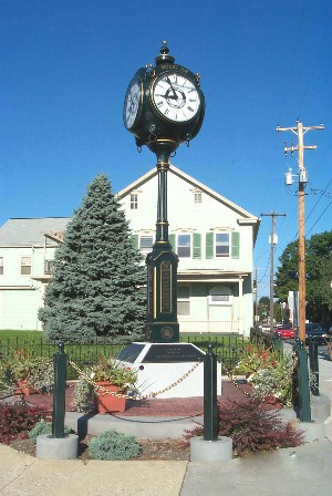 Mount Joy town clock