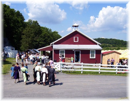 Perry County one room schoolhouse