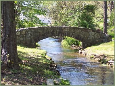 Stone Bridge over Donegal Creek