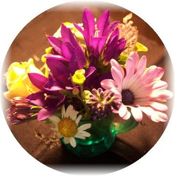 Mini-flower arrangement