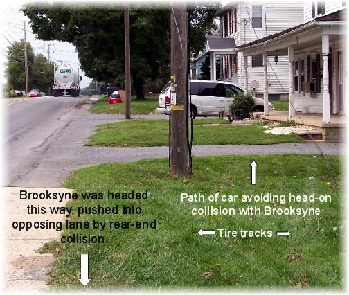 Van accident avoidance