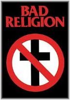 Bad religion t-shirt mocking cross