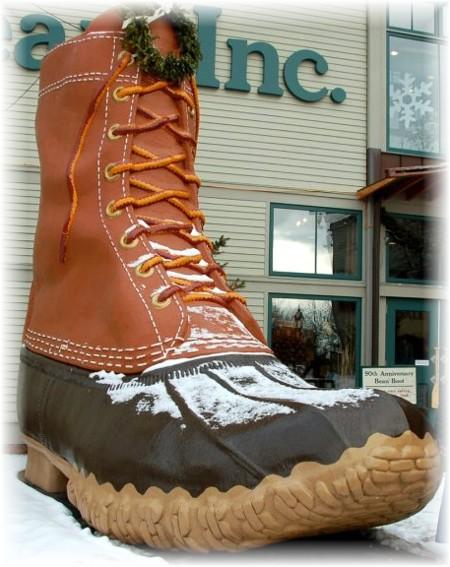 LL Bean Big Boot