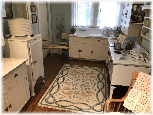 Billy Graham's childhood home kitchen